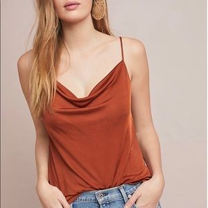Anthropologie cowl neck tank